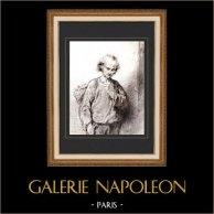 Karikatuur - Parijs aan de 19e eeuw - Collectie Paul Gavarni 28/38