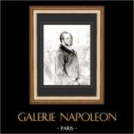 Karikatuur - Parijs aan de 19e eeuw - Collectie Paul Gavarni 36/38