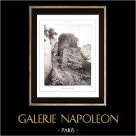 Vue de Naples - Tombeau de Virgile - Campanie (Italie)