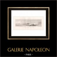 Guerres napoléoniennes - Campagne d'Égypte - Bataille près du Caire (Egypte)
