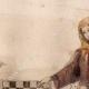 DETTAGLI 02 | Ritratto di Ottone IV di Brandeburgo che Gioca Scacchi con una Donna - Codex Manesse