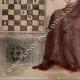 DETTAGLI 04 | Ritratto di Ottone IV di Brandeburgo che Gioca Scacchi con una Donna - Codex Manesse