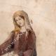 DETTAGLI 05 | Ritratto di Ottone IV di Brandeburgo che Gioca Scacchi con una Donna - Codex Manesse