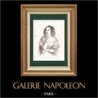 Portrait of Delphine de Girardin (1804-1855)