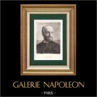 Porträt von Jules-Élie Delaunay (1828-1891) - Selbstbildnis - Selbstporträt