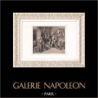 Le Tasse en prison - Poète Italien - Eugène Delacroix