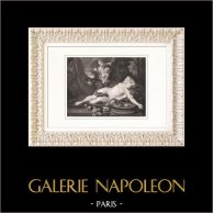 Art Nude - Sleeping Woman (Gérard Lairesse)