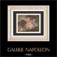 Erotic Art - XVIIIth Century - Collection De L'Amour 06/06 - The Bathers (Jean-Honoré Fragonard)