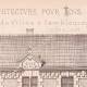 DÉTAILS 02 | Dessin d'Architecte - Semblancay - Indre-et-Loire - Ecole de Filles (Mr Paul Raffet - Gateuil & Daviet)