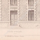 DÉTAILS 04 | Dessin d'Architecte - Semblancay - Indre-et-Loire - Ecole de Filles (Mr Paul Raffet - Gateuil & Daviet)