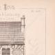 DÉTAILS 05 | Dessin d'Architecte - Semblancay - Indre-et-Loire - Ecole de Filles (Mr Paul Raffet - Gateuil & Daviet)