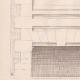 DETAILS 03   Drawing of Architect - Semblancay - Indre-et-Loire - School (Mr Paul Raffet)
