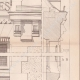 DETAILS 05   Drawing of Architect - Semblancay - Indre-et-Loire - School (Mr Paul Raffet)