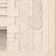 DETAILS 08   Drawing of Architect - Semblancay - Indre-et-Loire - School (Mr Paul Raffet)
