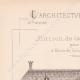 DÉTAILS 01   Dessin d'Architecte - Bois-Colombes - Maison du Garde-Jardinier (M. Duhamel Architecte)