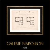 Drawing of Architect - Neuilly-Plaisance - House - Petite Maison d'Habitation (Mr Charpentreau Architecte)