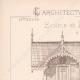 DÉTAILS 01   Dessin d'Architecte - Auteuil - Plan d'élévation - Ecurie et Logement (MM. Vaaser et Bougleux Architectes)