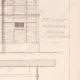 DÉTAILS 04   Dessin d'Architecte - Auteuil - Plan d'élévation - Ecurie et Logement (MM. Vaaser et Bougleux Architectes)