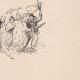 DETAILS 06 | View of Paris Rive gauche - Sketches - In Latin Quarter
