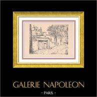 Vue de Paris - Rive droite - La Maison de Balzac - Passy