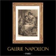 Flamländsk målning - Rubens Familj (Rubens)