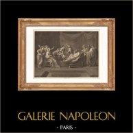Französische malerei - Moïse enfant foulant aux pieds la couronne de Pharaon (Nicolas Poussin)