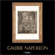 French painting - Cathédrale Notre Dame de Paris - The Choir (Jouvenet)
