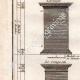 DÉTAILS 02 | Architecture - 1779 - Ordre Architectural - Piédestal - Ordre Dorique - Ordre ionique - Ordre Corinthien - Ordre Toscan - Ordre Composite