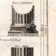 DÉTAILS 04 | Architecture - 1779 - Ordre Architectural - Ordre Dorique - Ordre ionique - Ordre Corinthien - Ordre Toscan - Ordre Composite