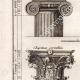 DÉTAILS 02 | Architecture - 1779 - Ordre Architectural - Chapiteau - Ordre Dorique - Ordre ionique - Ordre Corinthien - Ordre Toscan - Ordre Composite