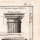 DÉTAILS 03 | Architecture - 1779 - Ordre Architectural - Chapiteau - Ordre Dorique - Ordre ionique - Ordre Corinthien - Ordre Toscan - Ordre Composite