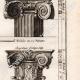 DÉTAILS 04 | Architecture - 1779 - Ordre Architectural - Chapiteau - Ordre Dorique - Ordre ionique - Ordre Corinthien - Ordre Toscan - Ordre Composite