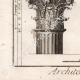 DÉTAILS 05 | Architecture - 1779 - Ordre Architectural - Chapiteau - Ordre Dorique - Ordre ionique - Ordre Corinthien - Ordre Toscan - Ordre Composite