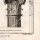DÉTAILS 06 | Architecture - 1779 - Ordre Architectural - Chapiteau - Ordre Dorique - Ordre ionique - Ordre Corinthien - Ordre Toscan - Ordre Composite