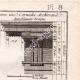 DETTAGLI 03 | Architettura - 1779 - Ordine Architettonico - Entablamento - Ordine Dorico - Ordine ionico - Ordine Corinzio - Ordine Tuscanico - Ordine Composito
