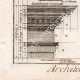 DETTAGLI 05 | Architettura - 1779 - Ordine Architettonico - Entablamento - Ordine Dorico - Ordine ionico - Ordine Corinzio - Ordine Tuscanico - Ordine Composito