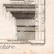 DETTAGLI 06 | Architettura - 1779 - Ordine Architettonico - Entablamento - Ordine Dorico - Ordine ionico - Ordine Corinzio - Ordine Tuscanico - Ordine Composito