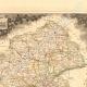DÉTAILS 02 | Carte de France - 1850 - Loire-Atlantique - Loire-Inférieure (Cambronne - Abelard)