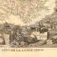 DÉTAILS 04 | Carte de France - 1850 - Loire-Atlantique - Loire-Inférieure (Cambronne - Abelard)