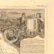 DÉTAILS 05   Carte de France - 1850 - Loir-et-Cher (Ronsard - Henri Ier de Guise)