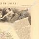 DÉTAILS 03 | Carte de France - 1850 - Indre-et-Loire (Descartes)