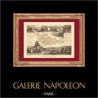 Landkarte von Frankreich - 1850 - Mosel (Pilatre du Rozier - Ney)