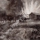 DETAILS 05   Disaster of Vioming - Conflagration - Burning - Aboriginal peoples (United States of America)