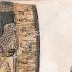 DÉTAILS 03   Egypte Antique - Cercueil et têtes de momie (Egypte)