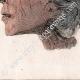 DÉTAILS 08   Egypte Antique - Cercueil et têtes de momie (Egypte)