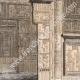 DÉTAILS 02   Vue de Thèbes - Memnonium - Temple de l'Ouest (Egypte)