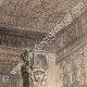 DÉTAILS 03   Vue de Thèbes - Memnonium - Temple de l'Ouest (Egypte)