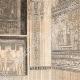 DÉTAILS 04   Vue de Thèbes - Memnonium - Temple de l'Ouest (Egypte)