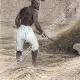 DÉTAILS 04   Agriculture - Battage du blé - Noreq (Egypte)