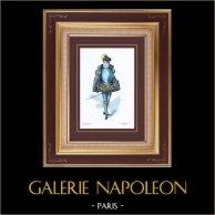 Traje - Fato de Teatro Francês - Pátria (Victorien Sardou) - Opera - Pajem de Duque de Alba